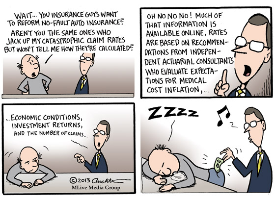 Reforming Auto Insurance