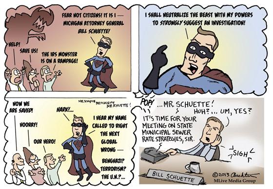 Bill Schuette -- SUPER Attorney General!