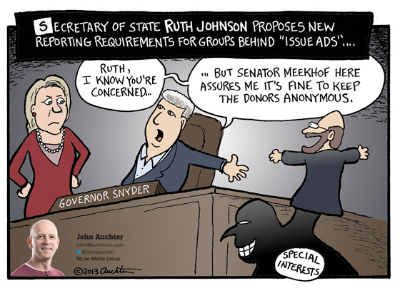 Senator Meekhof Here Assures Me...