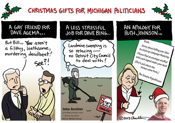 Christmas Gifts for Michigan Politicians