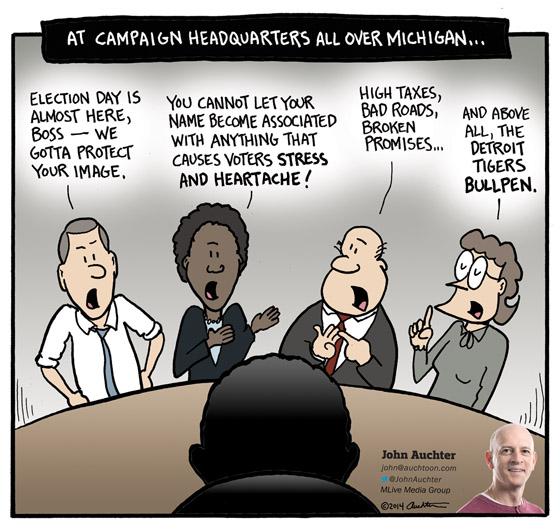 At Campaign Headquarters All Over Michigan
