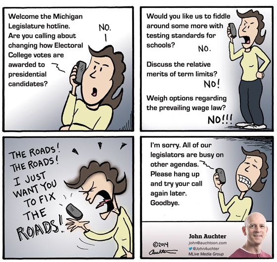 Welcome to the Michigan Legislature Hotline