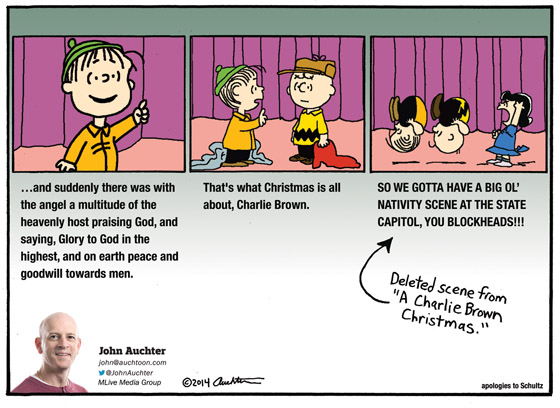 That's What Christmas Is All About, Charlie Brown.