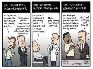 Bill Schuette Occupations