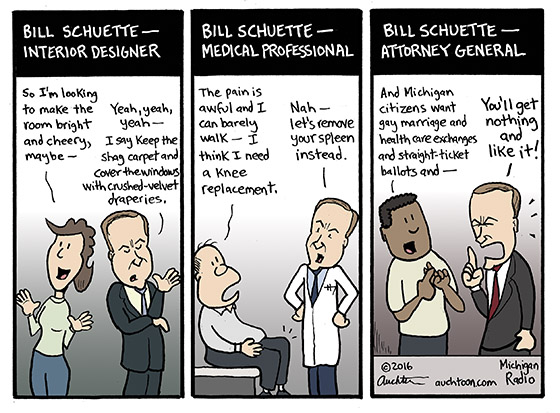 Bill Schuette Occupations