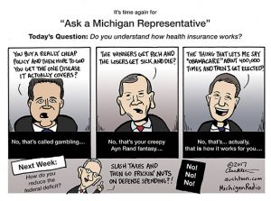 Ask a Michigan Representative How Insurance Works