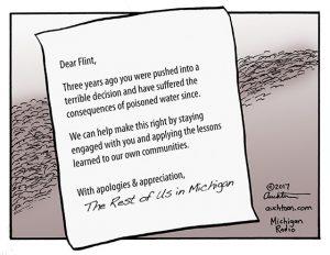 Dear Flint...