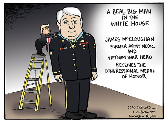 Former Army Medic and Vietnam War Hero James McCloughan