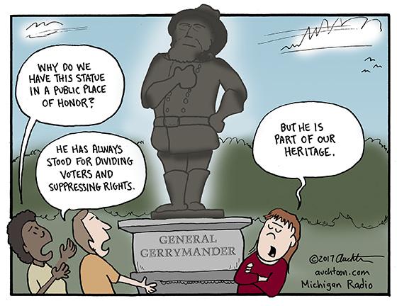 Why Are We Honoring General Gerrymander?