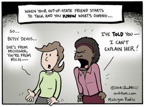 Having to Explain Betsy DeVos