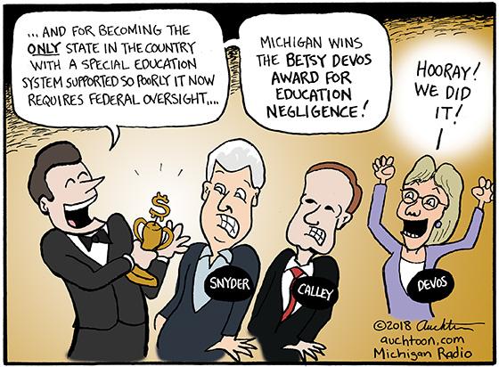 Michigan's New Education Award
