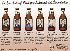 Michigan Gubernatorial Six Pack