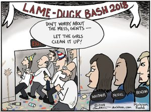 Who's Gonna Clean up the Mess After the Lame Duck Party?