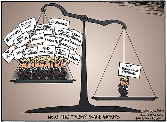 How the Trump Scale Works