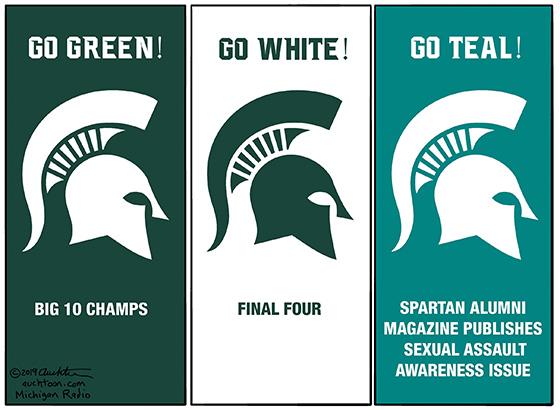 Go Green! Go White! ...Go Teal!