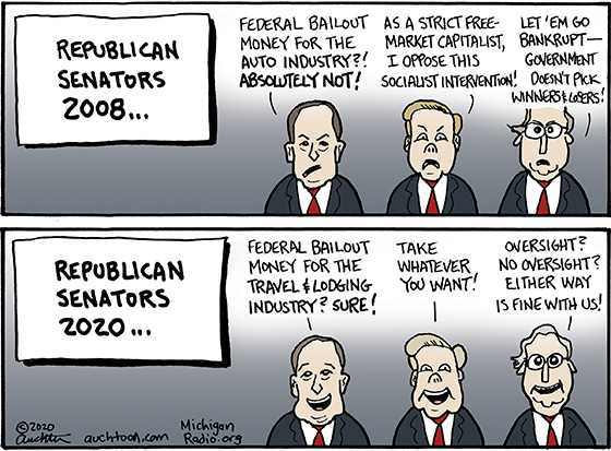 GOP Senators Now and Then
