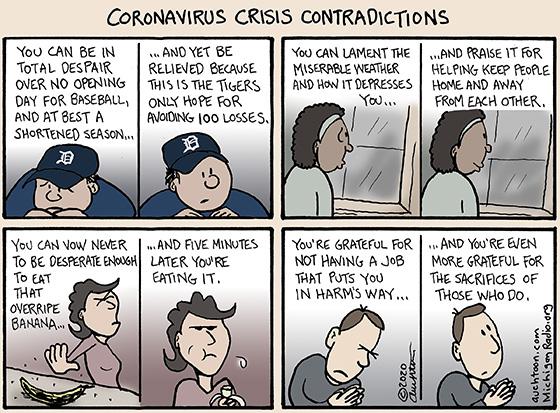 Coronavirus Crisis Contradictions