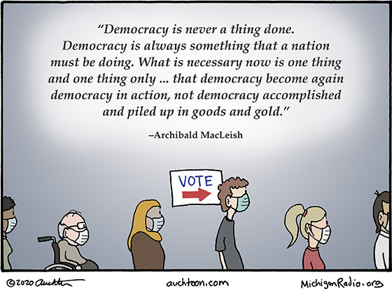 Democracy Is Never a Thing Done