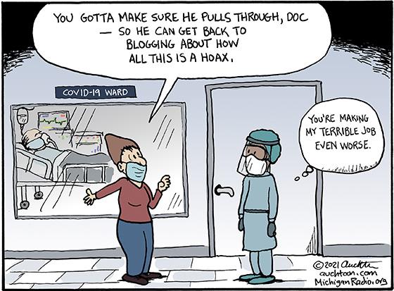 You Gotta Make Sure He Pulls Through, Doc...