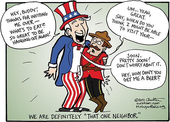 "We Are Definitely ""That One Neighbor"""