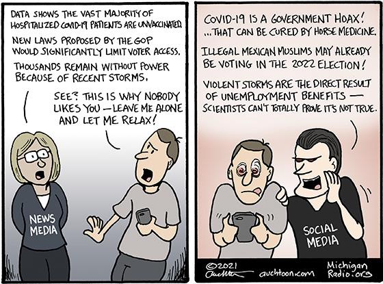 News Media vs Social Media